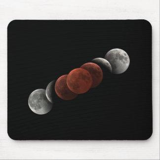 Total Lunar Eclipse Mouse Pad