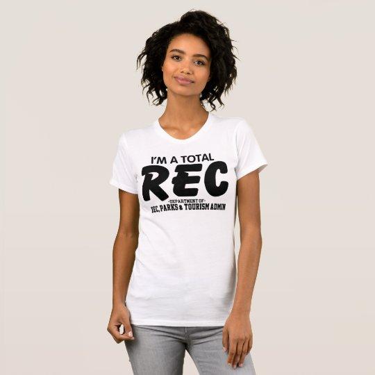Total Rec Women's T-Shirt (front design)