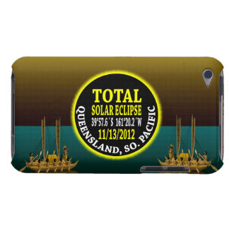 Total Solar Eclipse 11/13/2012 iPod Case-Mate Cases