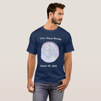 Total Solar Eclipse 2017 Global Path T-Shirt