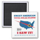 Total Solar Eclipse - 2017 - I saw it! Magnet