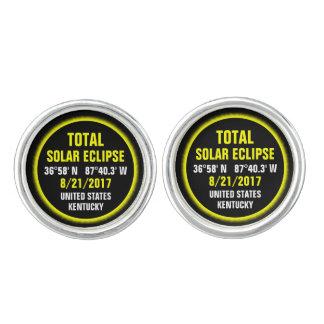 Total Solar Eclipse 8/21/2017 Cufflinks