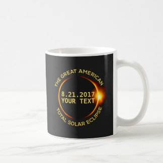 Total Solar Eclipse 8.21.2017 USA Add Your State Coffee Mug