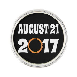Total Solar Eclipse August 21 2017 Lapel Pin