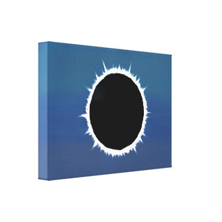 Total Solar Eclipse - Canvas Print