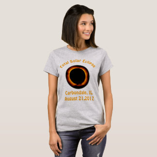 Total Solar Eclipse (  Carbondale, IL ) T-Shirt