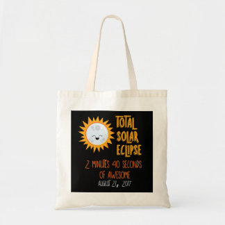 Total Solar Eclipse Emoji Tote Bag