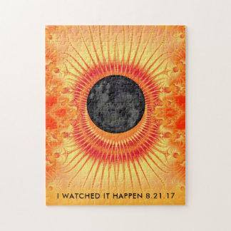 Total Solar Eclipse Fractal Art Jigsaw Puzzle