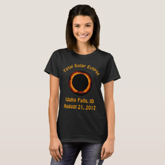Total Solar Eclipse ( Idaho Falls, ID ) T-Shirt