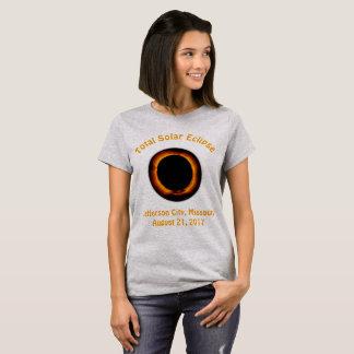Total Solar Eclipse (  Jefferson City, Missouri ) T-Shirt