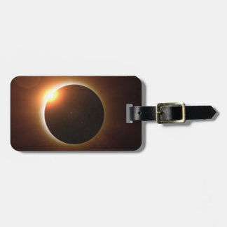 Total Solar Eclipse Luggage Tag