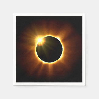 Total Solar Eclipse - Napkins Paper Napkins