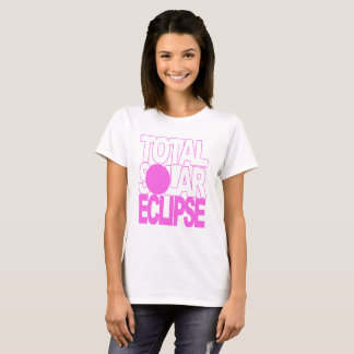 Total Solar Eclipse Pink Series T-Shirt