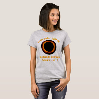 Total Solar Eclipse (  Scottsbluff, Nebraska ) T-Shirt