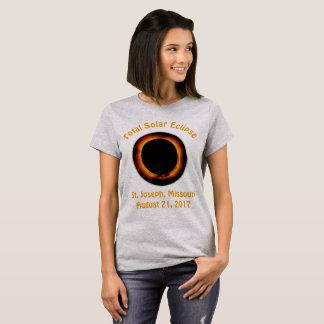 Total Solar Eclipse (  St. Joseph, Missouri ) T-Shirt