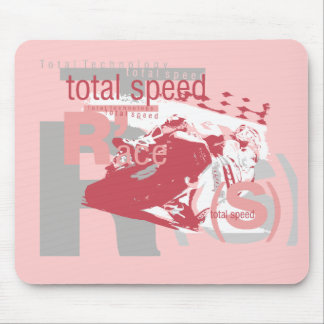 Total Speed Racing Tshirts and Gifts Mouse Pad