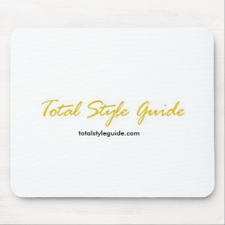 Total Style Guide Logo, Mouse Pad