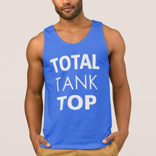 """TOTAL """"TANK"""" TOP."""