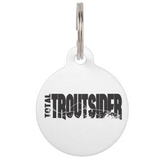 Total Troutsider Large Dog Tag
