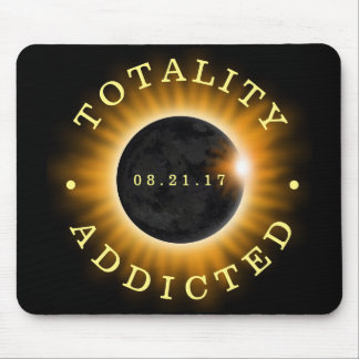 Totality Addicted Solar Eclipse Mouse Mat