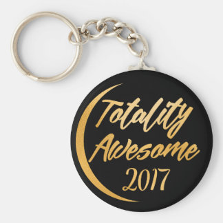 Totality Awesome 2017 Total Solar Eclipse Keychain