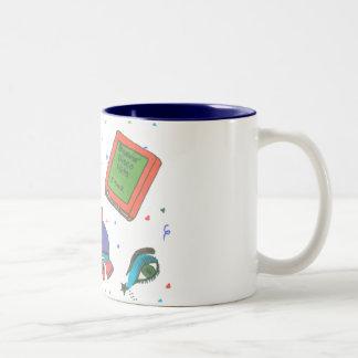 Totally 80 s Icons Rollerskate Coffee Mug