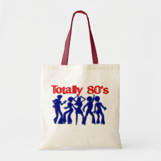 Totally 80s disco tote bag