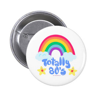 Totally 80s rainbow pins