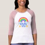 Totally 80s rainbow tee shirt