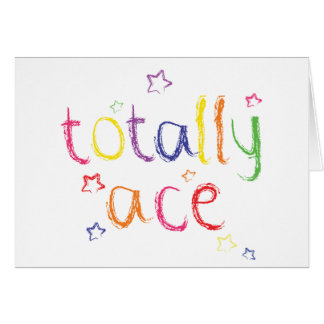 Totally Ace congratulations Card
