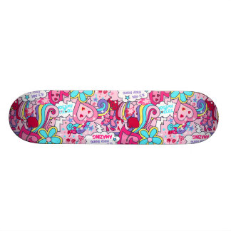 Totally awesome 19.7 cm skateboard deck