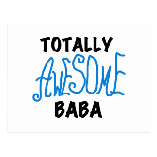 Totally Awesome Baba Tshirts and Gifts Postcard