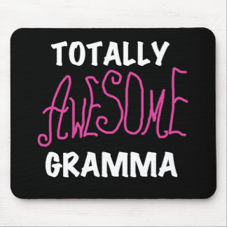 Totally Awesome Gramma Pink T-shirts Gifts Mouse Pad