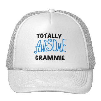 Totally Awesome Grammie Blue T-shirts Gifts Trucker Hat