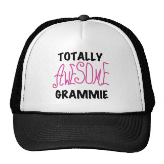 Totally Awesome Grammie Pink T-shirts Gifts Cap