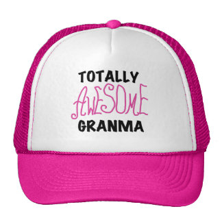 Totally Awesome Granma Pink Tshirts and Gifts Cap