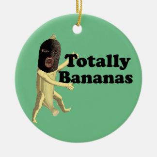 Totally Bananas Christmas Ornament