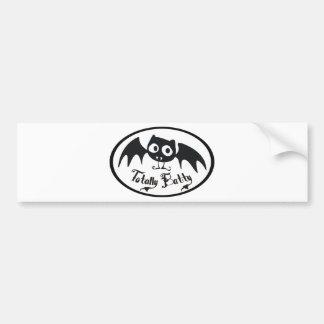 Totally Batty Bumper Sticker