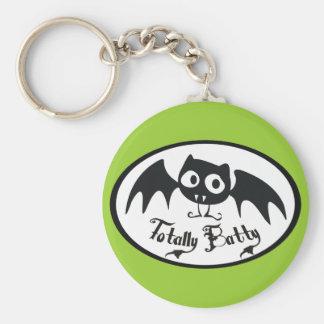 Totally Batty Keychain