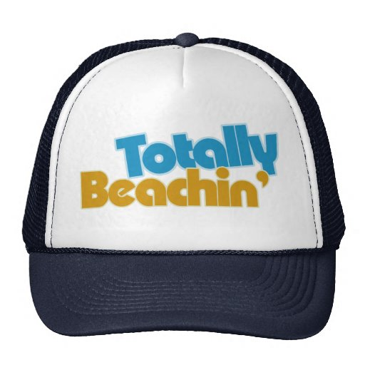 Totally Beachin Trucker Hats