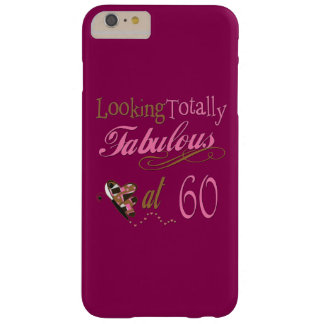 Totally Fabulous 60th Birthday Barely There iPhone 6 Plus Case