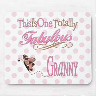 Totally Fabulous Granny Mouse Pad