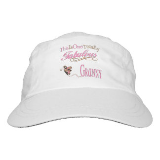 Totally Fabulous Granny with Pink Monogram Hat