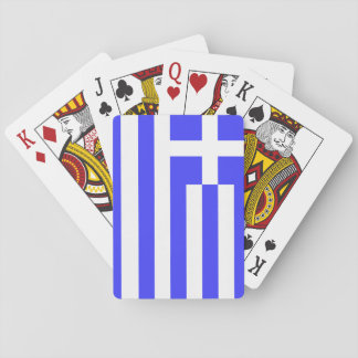 Totally Flag of Greece Playing Cards