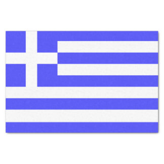 Totally Flag of Greece Tissue Paper
