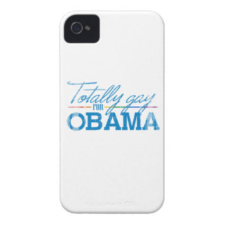 Totally Gay for Obama Faded.png Case-Mate iPhone 4 Cases