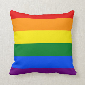 Totally Gay Pride Cushion