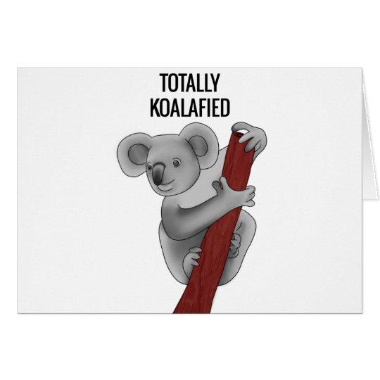 Totally Koalafied Card