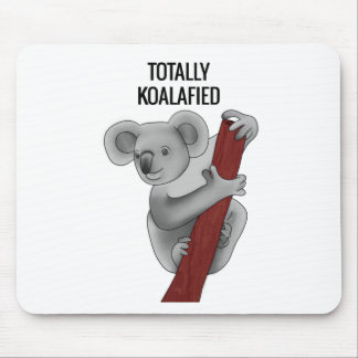 Totally Koalafied Mouse Pad