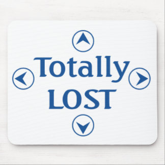 Totally LOST Mouse Pad